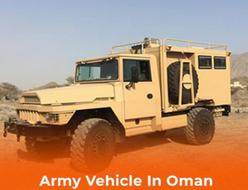 Army Vehicle In Oman